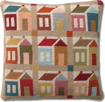 Millennia Designs Shaker 'Schoolhouse' Patchwork Tapestry Kit