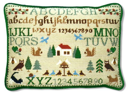 One Off Squirrel Tapestry Sampler Kit