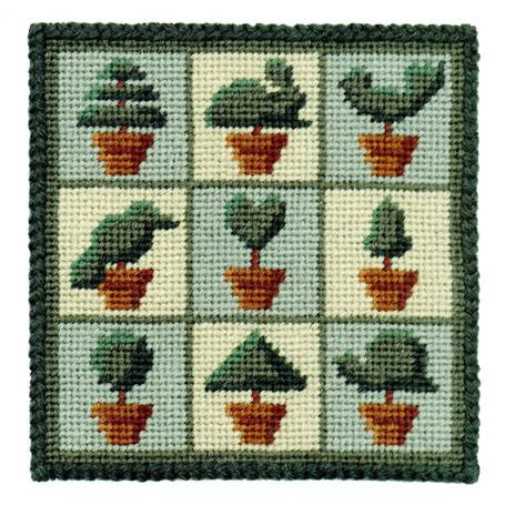 One Off Topiary Tapestry Pincushion Kit