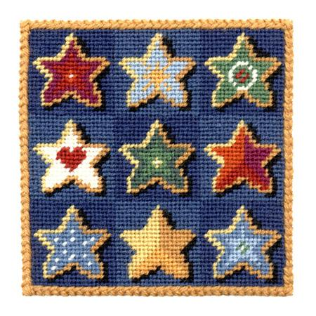 One Off Stars Tapestry Pincushion Kit
