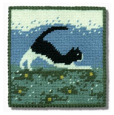 One Off Cat Tapestry Pincushion Kit