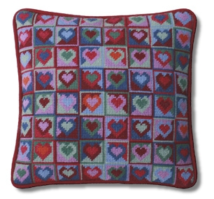 One Off 'Mosaic Hearts' Tapestry Kit