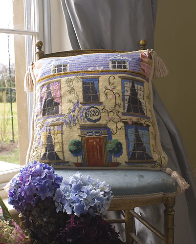 The Purple Tree Georgian Cottage Tapestry Kit