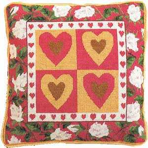Primavera Hearts Tapestry Kit