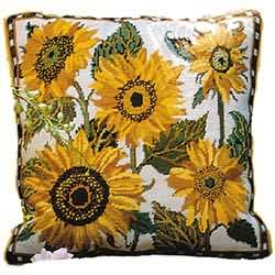 Primavera Cream Sunflower Dance Tapestry Kit