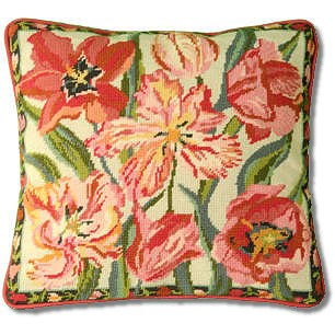 Primavera Peach Blossom Tulips Tapestry Kit