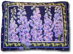 Primavera Delphiniums Tapestry Kit