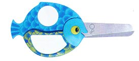 Children's Scissors - Fish