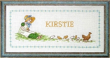 Kate Greenaway Roomplate cross stitch kit